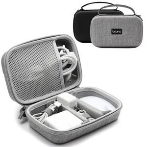 Boona rigide en EVA Accessoires pour ordinateurs portables Case Sac électronique Gadgets pour MacBook Air / Pro Adaptateur Sac Voyage