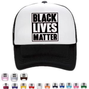 Fashion Sunscreen Hat Baseball Cap Summer Outdoor Travel sunshade Cap Black Lives Matter mesh hat Party Hats T9I00449