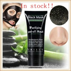 makeup SHILLS Deep Cleansing Black Mask Pore Cleaner 50ml Purifying Peel-off Mask Blackhead Remover Facial Mask Face Care Free DHL