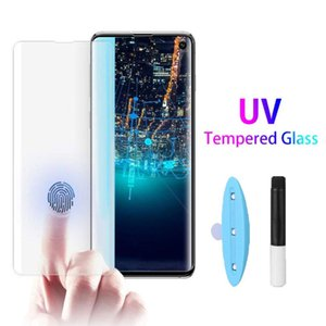 Full Adhesive Case Friendly 3D Curved Tempered Glass With UV Light Protector For Samsung series,Factory direct sales