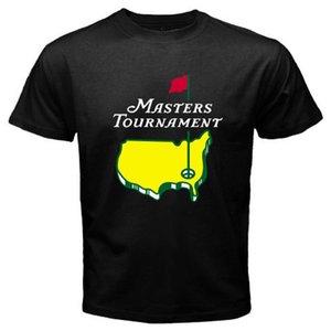 Masters Tournament Golf Championship Men's Black T-Shirt Size Cool Casual pride t shirt men Unisex Fashion tshirt free shipping
