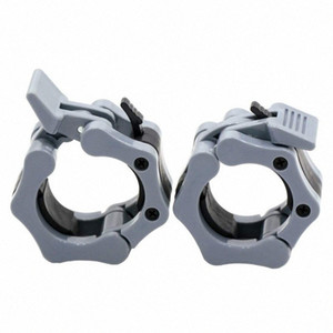 Workout Weightlifting Fitness Training Barbell Clamps 2 Inch Quick Release Pair Of Locking Weight Bar Plate Locks Collar Clips xaZg#