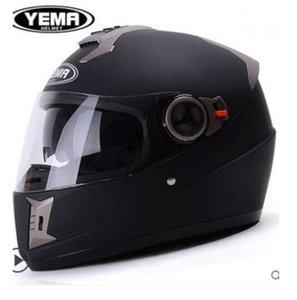 Mustang tout le casque chaud de course double objectif moto d'hiver des hommes de casque de moto pleine saison 15