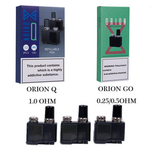 Originale Lost Vape Orion Pod DNA Go Pods Q Cartridge Ricambio Ricaricabile 6ml Cartucce