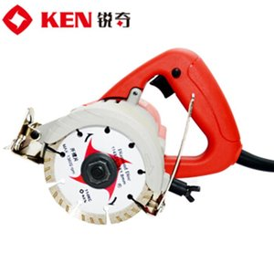 Ken Stone Cutter 4110B Marble machine Hand-held, multifunctional, adjustable 45° high power marble, wood, wall, floor 110mm Cutting machine