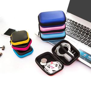 3 Размера хранение Удерживать чехол для хранения переноски Жесткой сумки для наушников Headphone Airpods Xiaomi Earbuds карты памяти Открытого кемпинг Альпинизма