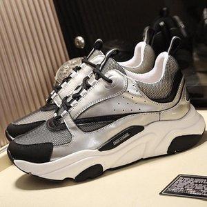 New 2020 Luxury Men Shoes Fashion Breathable With Original Box Flats Platform 2020 Comfortable Chaussures De Sport Pour Hommes B22 Sneaker