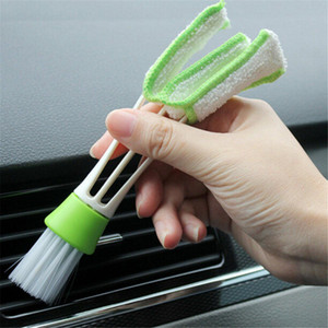 Car Washer Microfiber Cleaning Brush Blinds Duster Auto Air Conditioner Vent