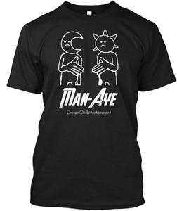Männer-T-Shirt Mann-Aye [Kleidung] Damen-T-Shirt