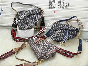 Saddle bag women spring broadband dîõr oblique handbag web celebrity star with one shoulder cross body bag