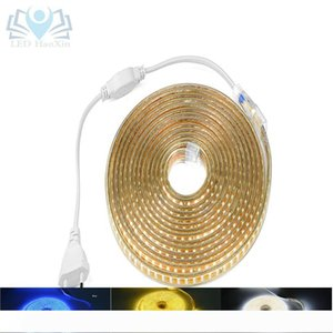 HaoXin LED Strip 220V AC Waterproof 120LEDs M 2835 SMD Garden Outdoor lights Holiday Christmas Deccoration lamp