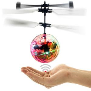 Creative Kid Jouet RC Lumineux Vol Balls Mini Aircraft Unique Suspendu LED Lumière Intelligente Induction Flying Ballkid Jouet