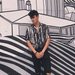 19SS Render camisa de seda cómodo camiseta de manga corta de moda de la calle Pareja hombres y de mujeres de alta calidad de la camiseta HFXHTX349