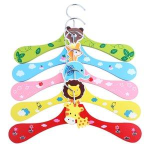 무료 배송! 나무 나무 어린이 만화 동물 옷을 옷걸이 / 의류 트리 / 옷걸이, 귀여운 옷 LX2406 랙