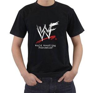 T-shirt da Uomo Nero New World Wrestling Federation casuale il formato S-5XL Raffreddare manica corta Orgoglio moda maschile maglietta unisex Nuovo