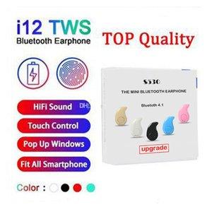 S530 Mini i12 i9S I11 i7s Inpods 12 TWS Bluetooth V5.0 Auriculares inalámbricos ventana pop-up auriculares estéreo de control táctil con el Mic