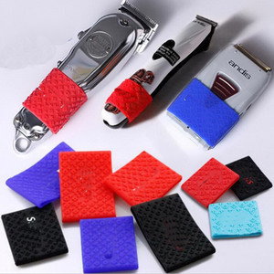 anelli decorativi Trimmer presa Nuova Barbiere Capelli Clipper gomma Grip Anti Slide Design barbiere trimmer Grips saloni di silicone
