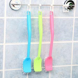 Новые Материальных Эксперты Крюк Тип семья ванной пластикового Туалет щетка Clean Brush Держатели DH0062