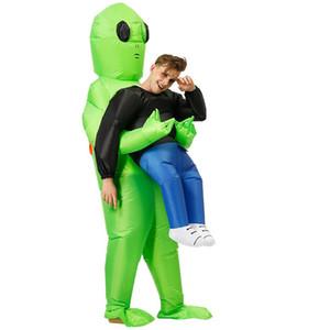 الأخضر نفخ الغريبة الوحش زي مخيف تأثيري حلي هالوين حزب مهرجان المسرح اصطحابي