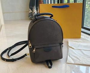 la renommée de la qualité Hight Palm Springs femmes Sac à dos Mini sacs à dos de livre en cuir des femmes d'impression sac à dos en cuir M44873