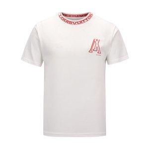 Mens Designer T Shirts Fashion Designer Mens Clothing Summer Casual Streetwear Designer T Shirt Rivet Cotton Blend Crew Neck Short Sleeve ss
