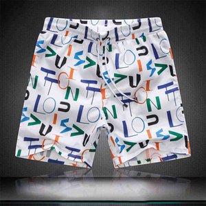 2020 design de luxe de style européen et américain nouveau style son assiette de couleur unie occasionnels hommes de mode hommes plage pantalons de plage vacances