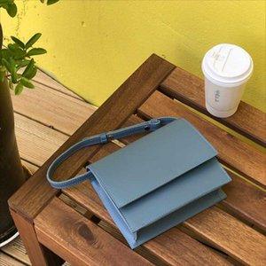 2020 New super fire bag Simple and versatile small square bag shoulder women women crossbody Fashion Korean