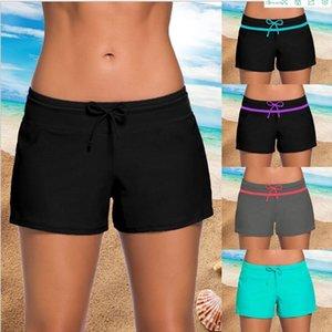 Yoga pants boxer women's hot spring conservative lace large size Yoga pants Lace swimming trunks boxer swimming trunks