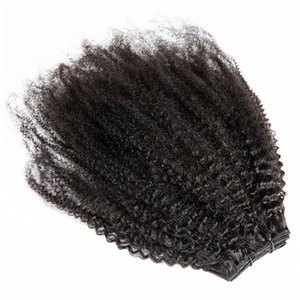 High Quality Brazilian 10-30 Inch Natural Black Afro Kinky Curly Virgin Human Hair Weave Extensions 3 to 4 bundles