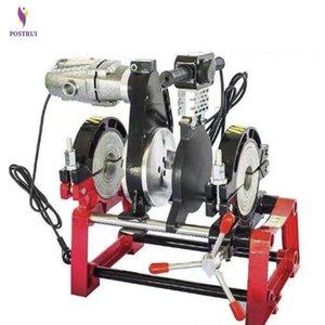 Manuel Sıcak Eriyik Hidrolik İki Halka Yerleştirme Makinesi PE / PPR / PB / PVDF Boru Butt Kaynak Makinesi