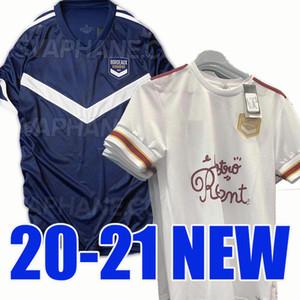 الجديدة 20 21 بوردو المنزل جيرسي لكرة القدم 2020 2021 قميص كرة القدم بعيدا عن بوردو تايلاند جودة مايوه دي القدم camiseta دي فوتبول