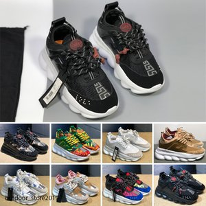 hococal New color chain reflects shoes for men and women sneakers runner snow leopard black white suede leather fashion