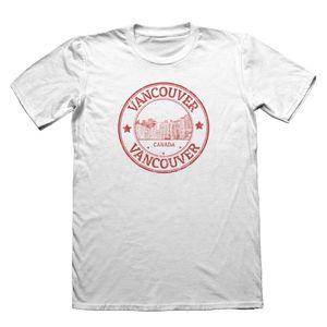 2020 Горячие продажи 100% Забавная Ванкувер Канада T-Shirt - Mens хлопок подарков # 4321 Tee Shirt
