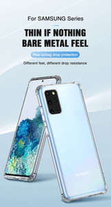 Shockproof Case for Samsung Galaxy S10 lite S20 S10e S8 S9 plus Silicone Phone Cases on for Samsung S20 Note 10 9 8 Back Cover