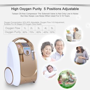 Portable Oxygen Concentrator Generator Machine for Medical 1-5L Adjustable Purity Medical Oxygen Machine 24 hours Continuously Flow