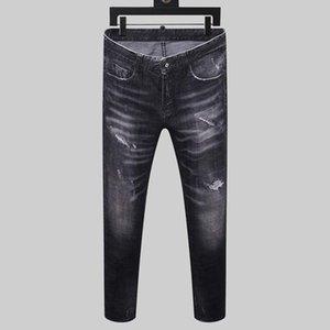 20SS New Italian Designer Brand Jeans Fashion Pants Italian Men's Jeans Brand Designer Fashion Jeans Hip Hop Pants Men's size 11T2