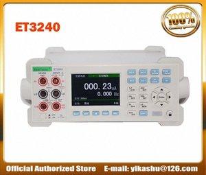 Цветной ЖК-цифровой мультиметр Емкостное сопротивление Частота измерения ET3240 Desktop Instrument DCV ACV DCI ACI RtbX #