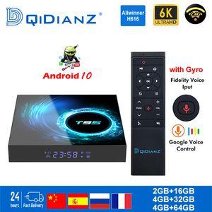 Smart TV BOX T95 Android 10 6K H616 quad core lettore multimediale Netflix Play Store App gratuita veloce Set top X96Air PK HK1MAX H96