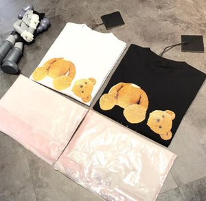 20ssPalm Palm Decapitated Bear Short Sleeve PA Teddy Bear Loose High Street T-shirt see S M L
