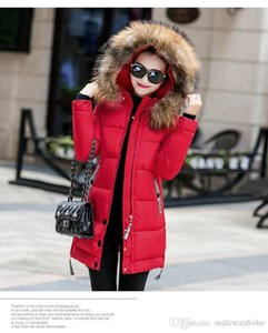 Women Winter Designer Coats Thick Warm Long Down Jackets Solid Color Hooded Clothing Single Breasted Coats