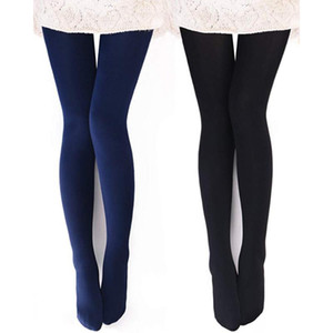 2pair / Set Damen Opaque Warme Fleece-Futter Tights - Thermal Winter Outdoor Sport Tights