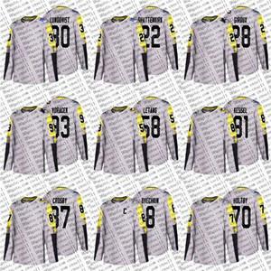 2018 All Star Metropolitan-D Lundqvist Shattenkirk Claude Giroux Voracek Letang Phil Kessel Sidney Crosby Alex Ovechkin Holtby Hockey Jersey