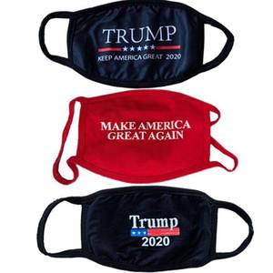 Trump Maschera fare le maschere in America Great Again Viso Outdoor antipolvere lavabile Designer Mask LJJO8236