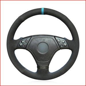 Рулевое управление MEWANT Black Suede колеса автомобиля Обложка для E36 1996-2000 E46 1998-2000 Z3 E36 / 7 1995-1999