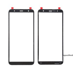 10Pcs For Samsung J4 Plus J6 Plus J610 J8 J810 Touch Screen Front Glass LCD Outer Panel Cover Repair Replacement Part
