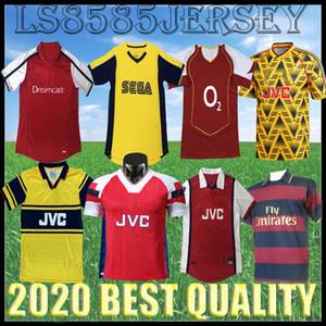 Retro ARSEN Machucado Banana 1982 92 93 94 97 1998 de Futebol camisas de futebol Início 1999 HENRY Bergkamp afastado 2000 2001 2004 JERSEY Highbury