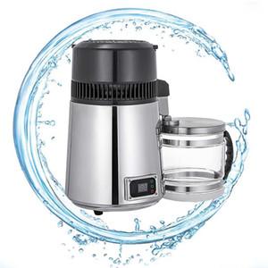 4L Pure Water Filters Destilador eléctrico del acero inoxidable del hogar purificador de agua destilada carcasa del filtro de agua de la máquina