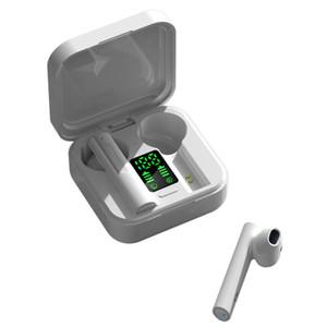 Novas chegadas carregador solar de auscultadores sem fios air6 mais TWS Bluetooth Headphone in-ear fones de ouvido bluetooth sem fio com display LED