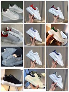 McQueen Shoes scarpe da uomo di conception de luxe femmes chaussures chaussures de sport de la plate-forme chaussures casual or scarpe MQ size35-44