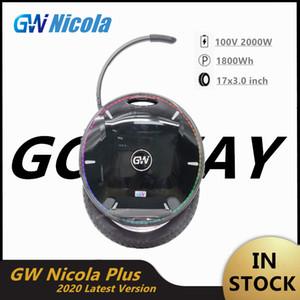 2020 GotWay Nikola Auto Equilibrio Scooter eléctrico con Bluetooth Altavoz monociclo patín Hoverboard una rueda 100V 2000W Motor 1800WH